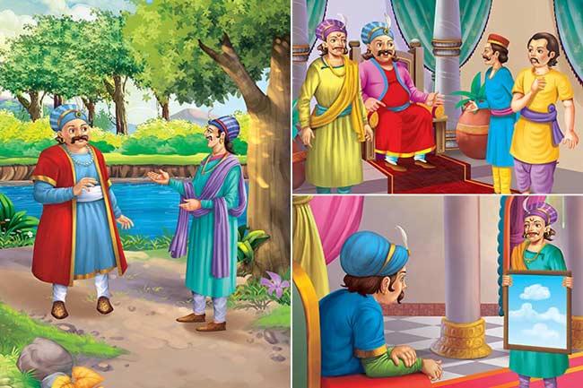 বাদশা আকবর ও বীরবলের মজার গল্প